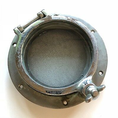 Small 5 Inch Antique Vintage Maritime Bronze Ship Boat Porthole Steampunk