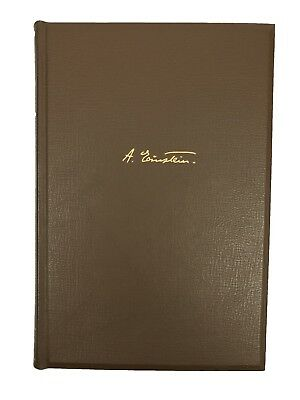 """Rare Signed ALBERT EINSTEIN Book """"One and Only Intellectual Biography"""" JSA/PSA"""