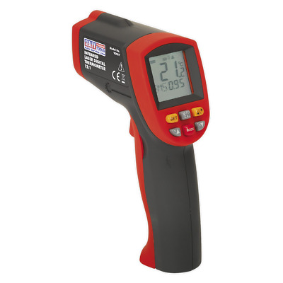 VS907 Sealey Infrared Laser Digital Thermometer 12:1 [Engine]