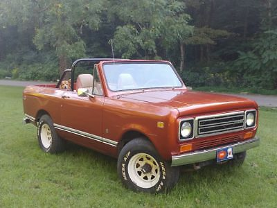 1979 International Harvester Scout II 1979 International Harvester Scout II