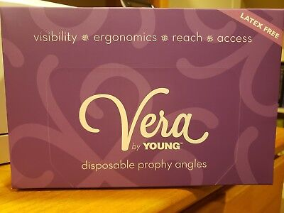 young classic petite web Disposable Prophy Angles VERA dental 125/box ref#120025