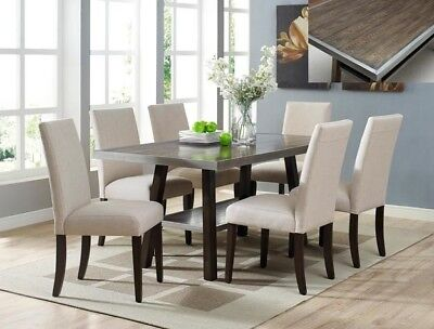 Table Plus 4 Chairs with follower base (38'' x 64'' x 30'' H)