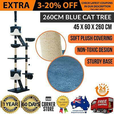 New CAT SCRATCHING TOWER SCRATCH TREE House Furniture Pole Gym Post Kitten Large