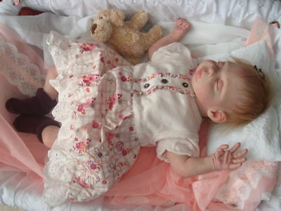 Kiley reborn doll kit by Phil Donnelly including cloth body C.O.A.