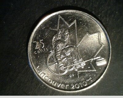 2007 Canada 25 Cents, Very High Grade Uncirculated Nickel Coin (Can-598)