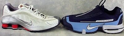 Lot Of 2 Nike Size 11.5 Mens Gore Tex & Nike Shox Running Athethic Shoes