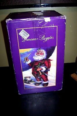 Duncan Royale Santa Music Box Plays Santa Claus is coming to town #6956/10000