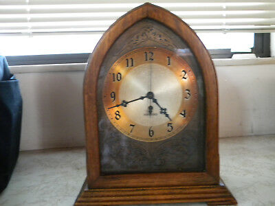 Vintage 1930's Hammond Spin to Start Electric Clock W/ Original Cord READ