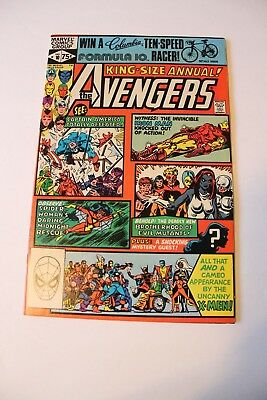 King-Size Annual The Avengers #10 Nm/mt 9.8 Nm/mt 9.9 Mt (1St Appearance Rouge)