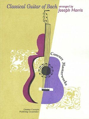 Classical Guitar of Bach Concert Masterworks