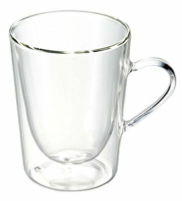 Bredemeijer Coffee and Tea Double Walled Glass, Transparent, 29.5 cl
