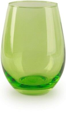 Circleware 44681 Calabria Stemless Wine Glasses, Set of 4 Drinking Glassware