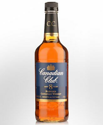 Canadian Club 8 Year Old Blended Canadian Whisky (700ml)