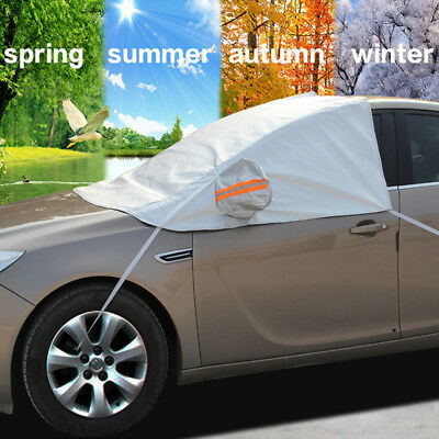 Winter Car Windshield Cover For Snow Ice Frost Waterproof Sun Protector Guard