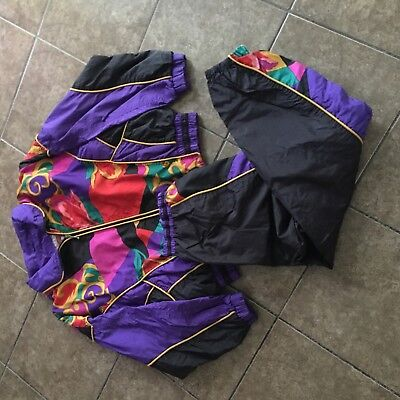East West Windbreaker Matching Jogger Suit Size L