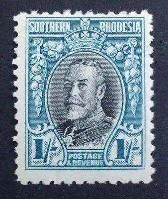 MINT SOUTHERN RHODESIA 1931 1s 1/-  shilling  PERF11 1/2 SG 23a SG23a   MINT.