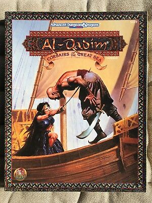Al Qadim 9449: Corsairs of the Great Sea, AD&D 2nd role-play TSR 1994, WIE NEU