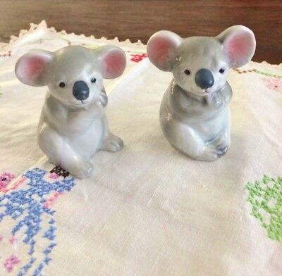 Koala Salt And Pepper Shakers - Vintage