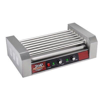 Great Northern Commercial Quality 18 Hot Dog and 7 Roller Grilling Machine,