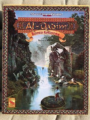 Al Qadim 9440: Ruined Kingdoms, AD&D 2nd role-play TSR 1994, WIE NEU
