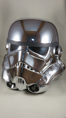 EFX Star Wars Stormtrooper 40th Anniversary Helmet Helm Chrome 49 of 500 1:1 OVP
