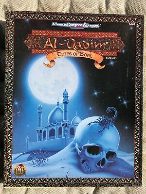 Al Qadim 9467: Cities of Bone, AD&D 2nd role-play TSR 1994, WIE NEU