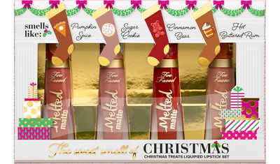 TOO FACED The Sweet Smell of Christmas Christmas Treats Liquified Lipstick Set