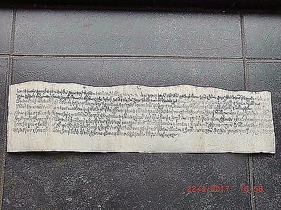 1668. Vellum INDENTURE of FINAL CONCORD.........CHELSFIELD & LULLINGSTONE. KENT.