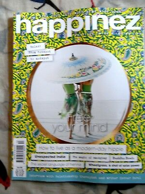 Happinez magazine #13 2018 How to Live as a Modern-Day Hippie + India, Free MIND