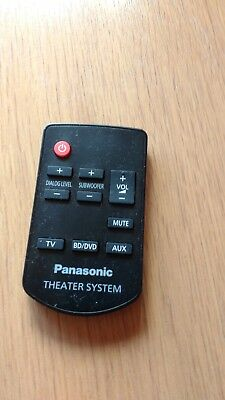 Panasonic N2QAYC000064 Remote Control for SC-HTB20 SU-HTB20 Home Theater System