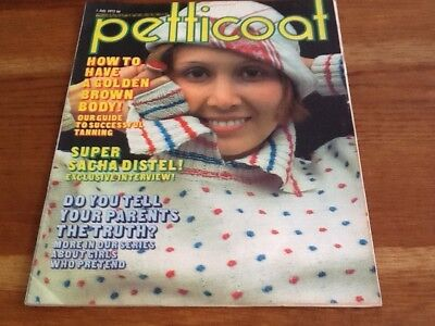 PETTICOAT MAGAZINES 1st July & 2nd September 1972