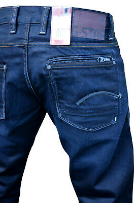 G STAR JEANS HOSE Attacc Low Straight W 31 L 34 3134