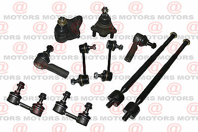 Suspension Steering Toyota Corolla 1993 to 2002 Ball Joints Rack Ends Sway Bars