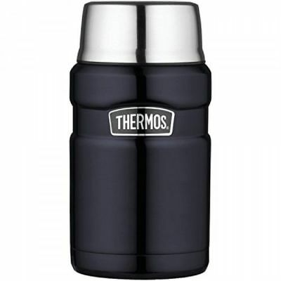Thermos Stainless King 24-Ounce Food Jar, Midnight Blue, New, Free Shipping