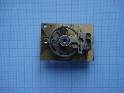 Lever Platform Escapements for Spares or repair ! Needs a cleaning.