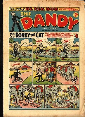 Dandy #652  May 22nd 1954  PLEASE READ CONDITION