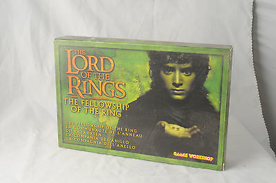 Games Workshop LotR Fellowship of the Ring, The (2001 Edition) Open Box Metal