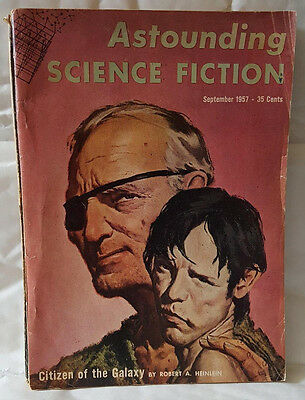 Astounding science fiction - US magagazine. September 1957