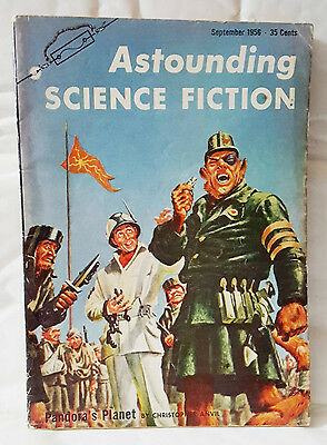 Astounding science fiction - US magagazine. September 1956