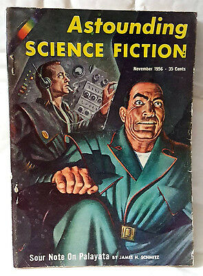 Astounding science fiction - US magagazine. November 1956