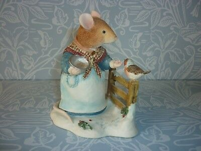 Villeroy & Boch Foxwood Tales- Mrs Rabbit - Seeds of Kindness -Winter at Foxwood