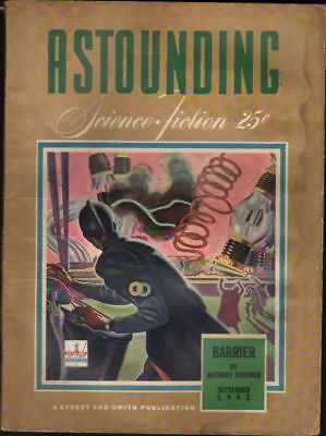 Astounding Science Fiction  September 1942