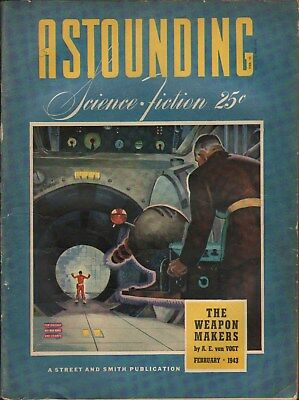 Astounding Science Fiction   February 1943