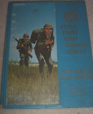 1964 Army Training Center/infantry.ft.jackson South Carolina Yearbook.co-C.3Rd B