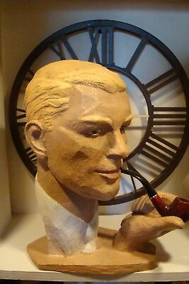 vintage male mannequin head