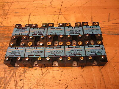 Douglas Randall A40D LOT OF 10 Solid State Relay 90-260V-AC 480V-AC 40A KIDDE