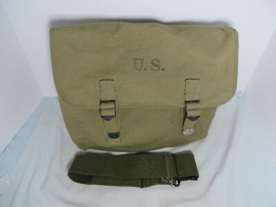 WW2 US M1936 Musette Bag Original minty with strap