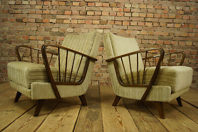 60er Retro Easy Chair Mid-Century Lounge Sessel Vintage Clubsessel 50er 1/3