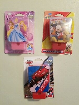 Disney Automatic LED Night Light pick any two for $9.95