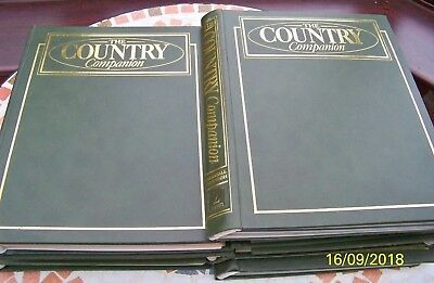 Marshall Cavendish The Country Companion Partwork series full set 7 binders